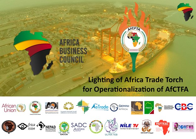 Read more about the article High Level Event of Lighting the Africa Trade Torch (ATT) & The start of the Africa Trade Convoy (ATC)